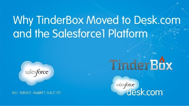 Why TinderBox Moved to Desk.com and the Salesforce1 Platform