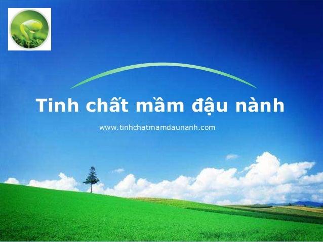 LOGOTinh chất mầm đậu nànhwww.tinhchatmamdaunanh.com