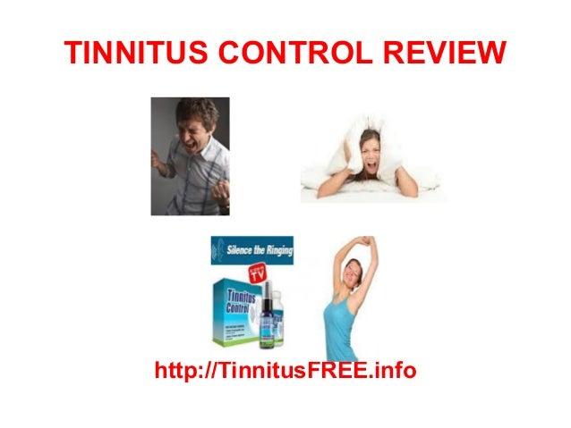 TINNITUS CONTROL REVIEW    http://TinnitusFREE.info