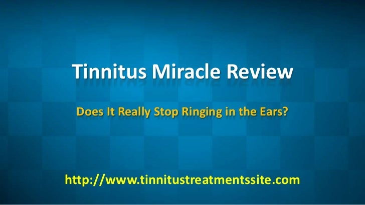 Where Does The Ringing Come From In Tinnitus