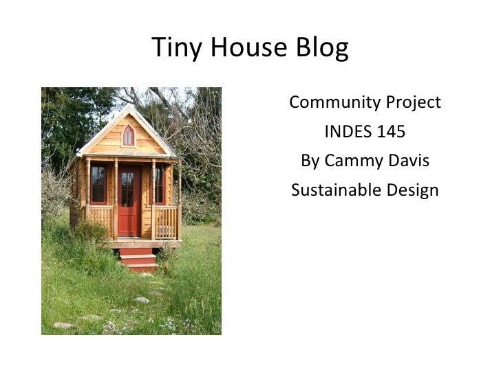 Tiny houseblog