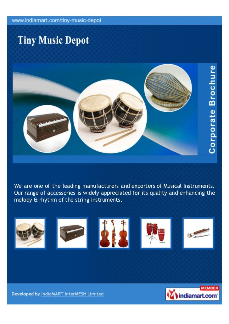 We are one of the leading manufacturers and exporters of Musical Instruments.Our range of accessories is widely appreciate...