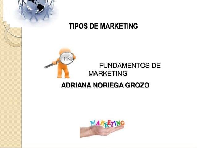 Tipo de marketing