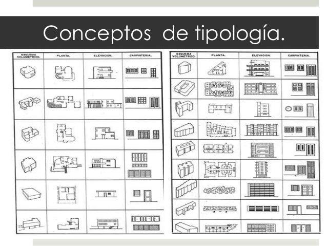 Tipologia en arquitectura for El concepto de arquitectura