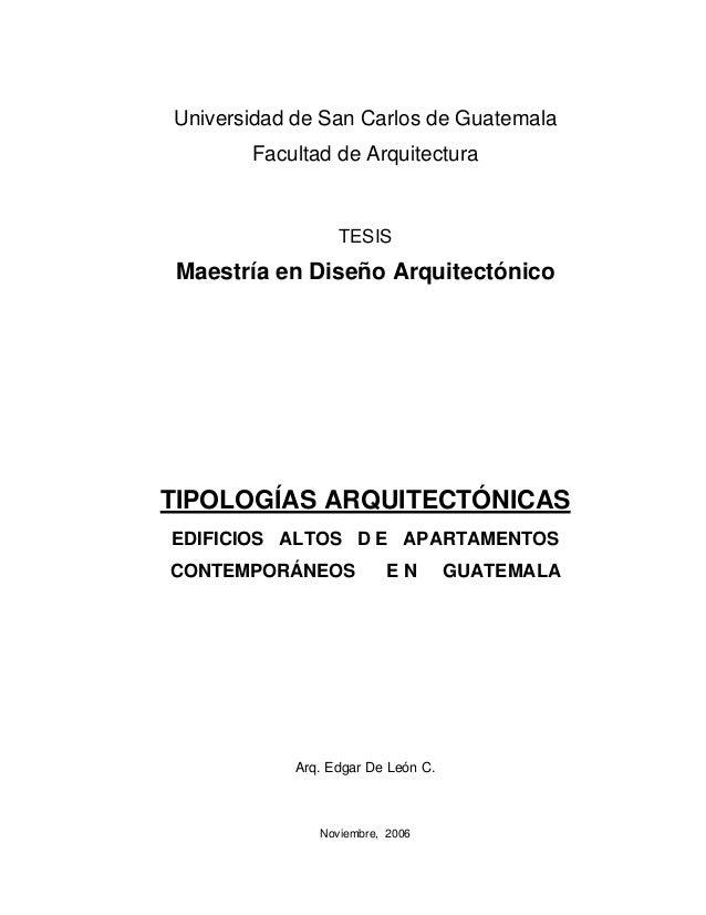 Tipologias arquitectónicas san carlos guatemala-arquitectura
