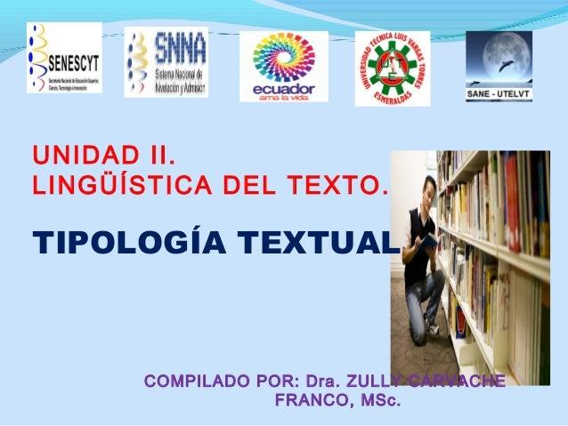 Tipologia textual.unidad 2