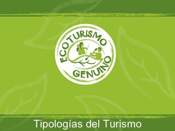 Tipologia Turismo