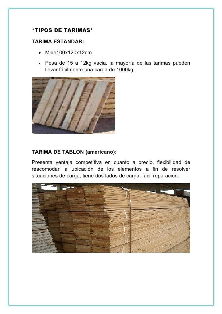 Tipos de tarimas - Cuanto cuesta un palet de madera ...