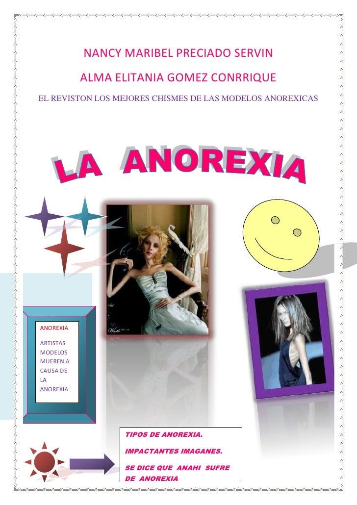 Tipos De Anorexia (Reparado)