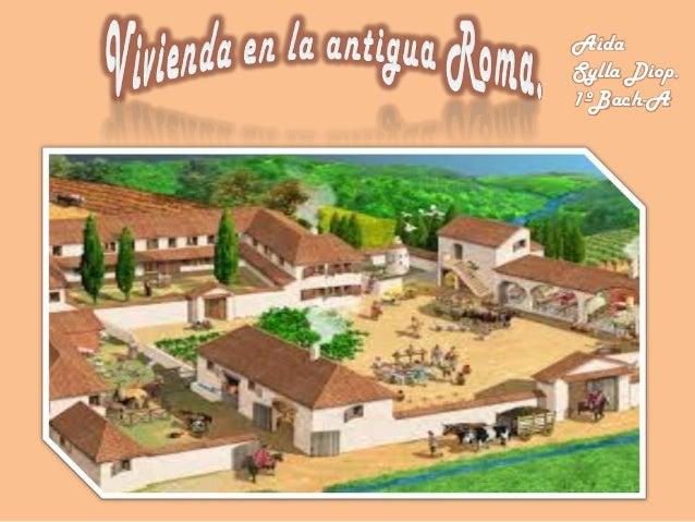 Tipos de casas en la antigua roma - La casa de las perchas ...