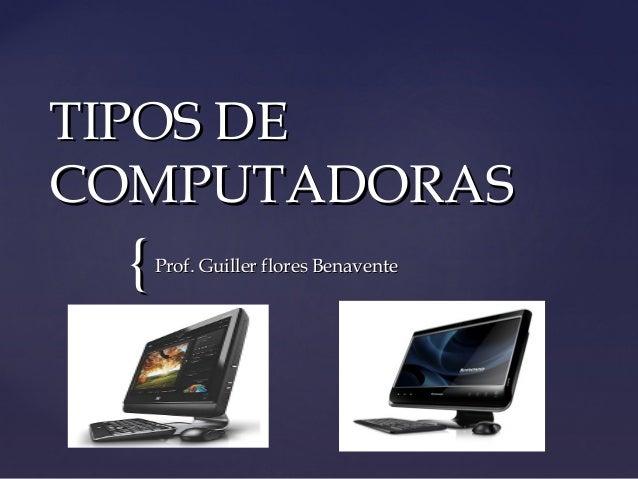 Tipos de computadoras (1)