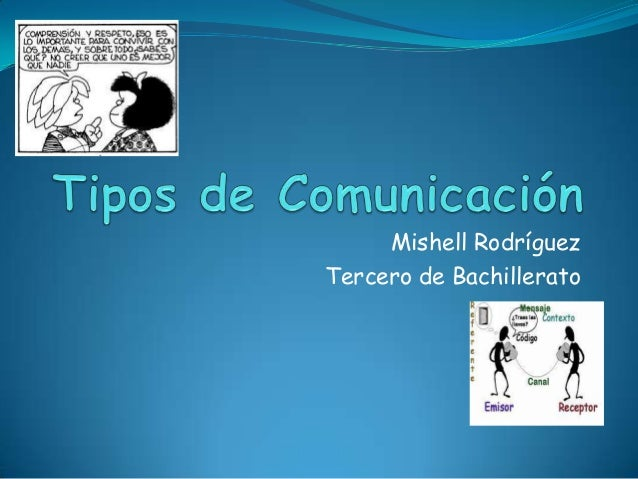 Mishell Rodríguez Tercero de Bachillerato