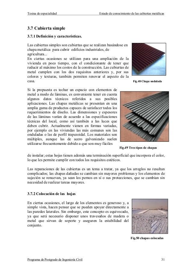 Tipos de cubierta for Tipos de cubiertas para tejados