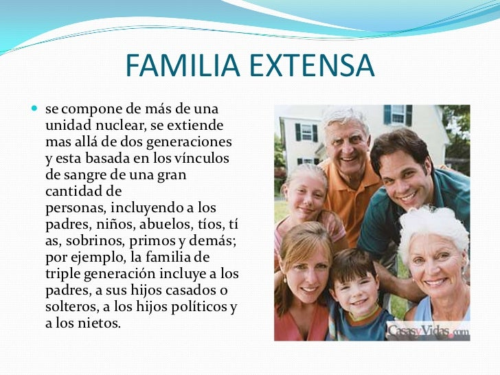 Tipos de familia for Tipos de familia pdf