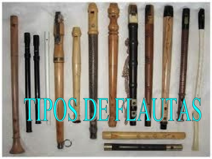 TIPOS DE FLAUTAS