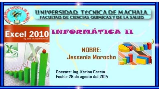 TIPOS DE GRÁFICOS EN MICROSOFT EXCEL 2010