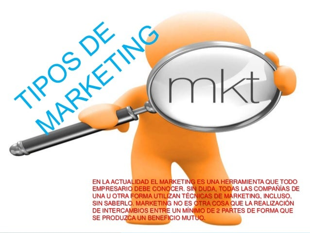 Tipos de marketing2