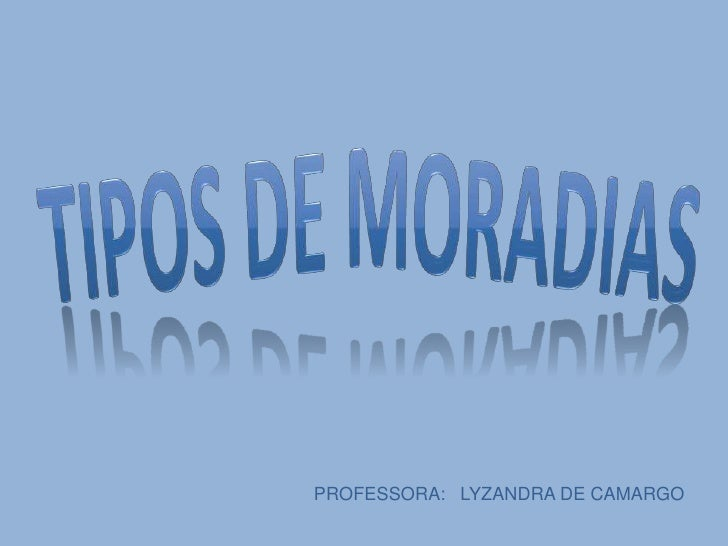 PROFESSORA: LYZANDRA DE CAMARGO