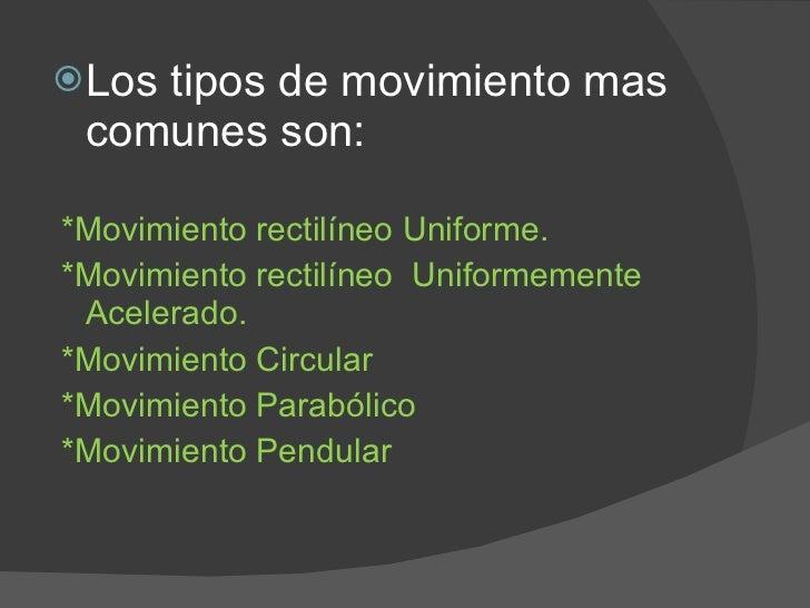 Tipos de movimiento fisica - Tipos de sensores de movimiento ...