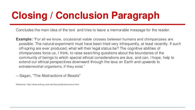 Conclusion In Research
