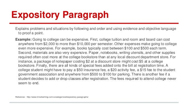 ... Definition Expository Paragraph What Is Expository Text   Definition  Like Any Other Essay With An Introductory ...