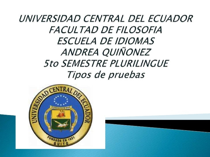 Andrea Quiñonez  Entrevistas y Pruebas
