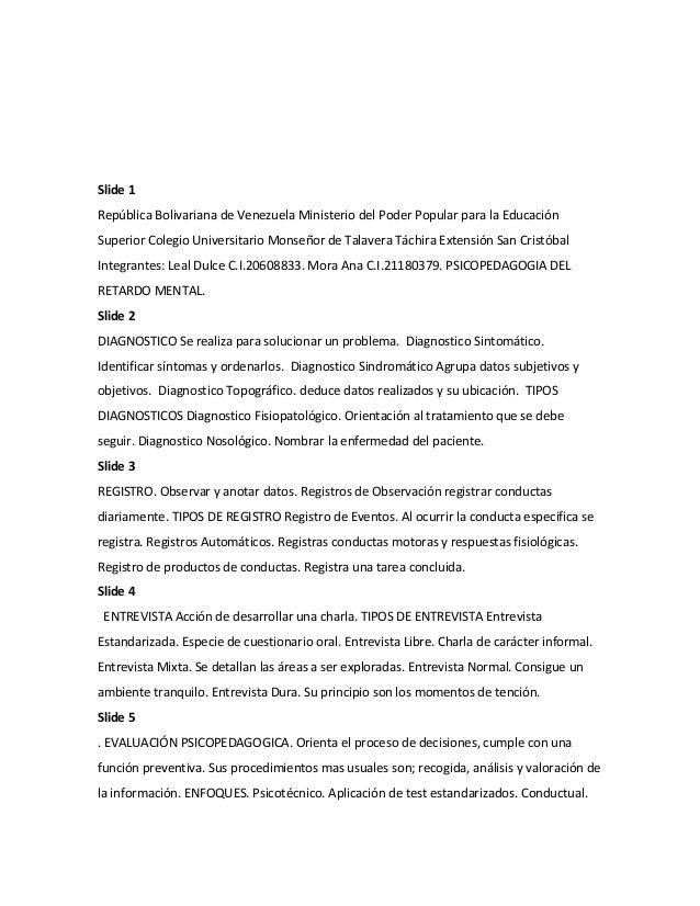 Tipos de registro psicopedagogia