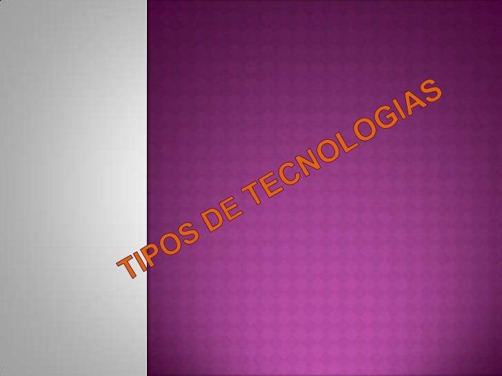 La palabra tecnología hace referencia al conjunto de nociones técnicas, aplicadas al diseño y construcción de productos y...