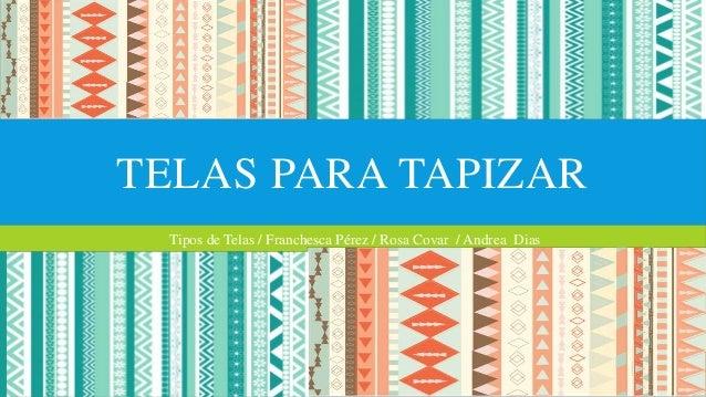 Tipos de telas para tapizar - Telas para tapizados de muebles ...