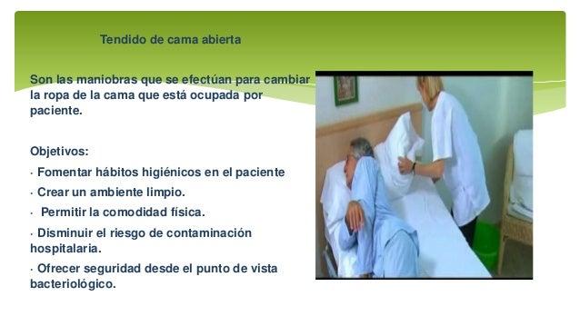 Tipos de tendidos de cama for Cama quirurgica