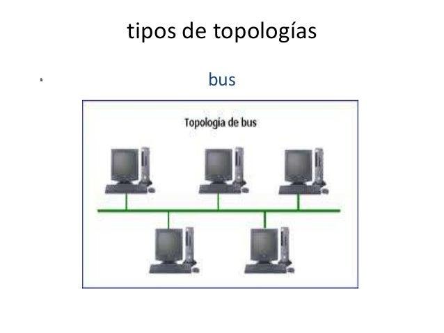 tipos de topologías bus