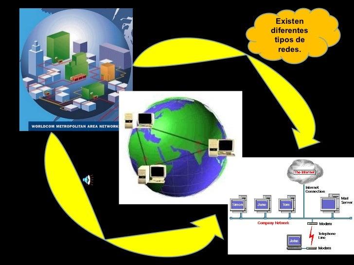 Existen diferentes tipos de redes.