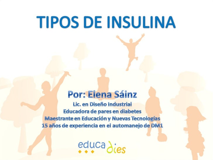 Tipos Insulina