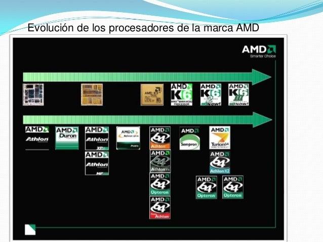 Tipos Y Modelos De Procesadores