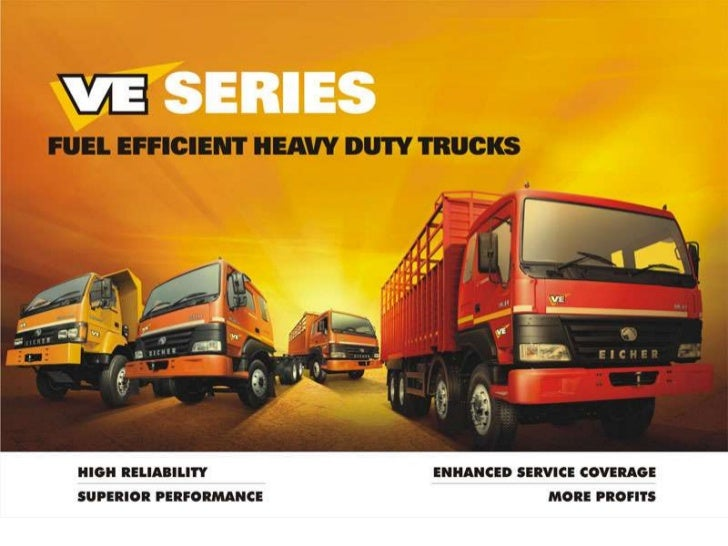 """What is VE Series?""""VE Series"""" is a new range of value enhanced, fuel efficient Eicher Heavy Duty Trucks presented byVE Com..."""