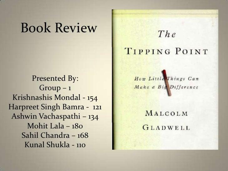 Book Review<br />Presented By:<br />Group – 1<br />Krishnashis Mondal - 154<br />Harpreet Singh Bamra -  121<br />AshwinVa...