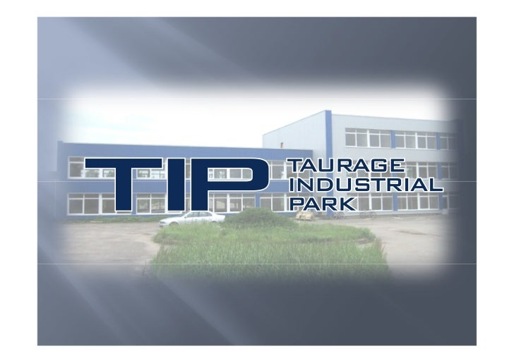 """LOCATION""""Taurage Industrial Park"""" is located in a strategic position:in the middle of Europe, southwest of Lithuania, 117 ..."""