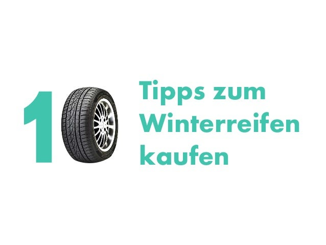 Tipps zum Winterreifen kaufen