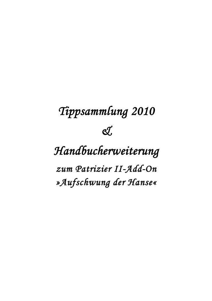 Tippsammlung 2010