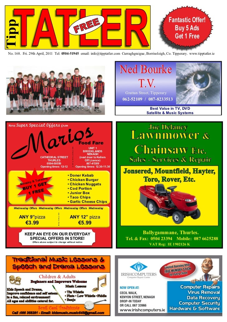 Tipp Tatler Issue 168 April 2011