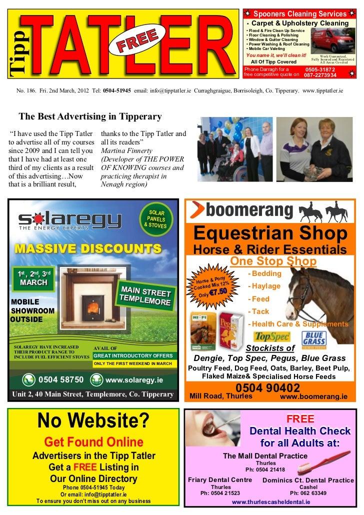 Tipp Tatler Issue 186 March 2012