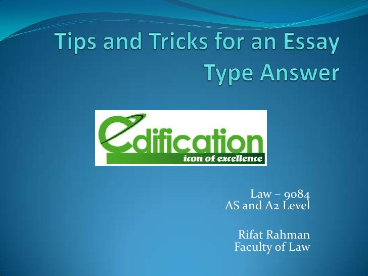 Sat tips and tricks essay