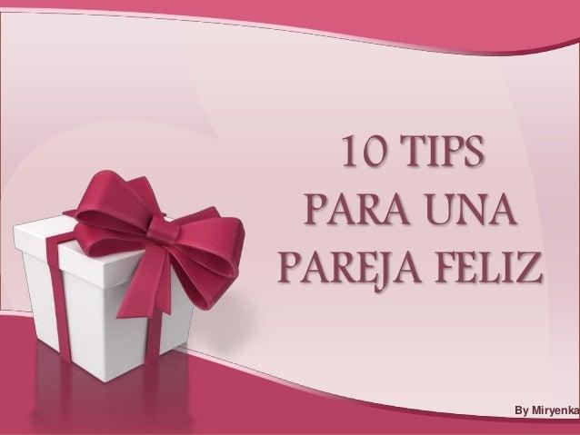 Tips Para Pareja Feliz