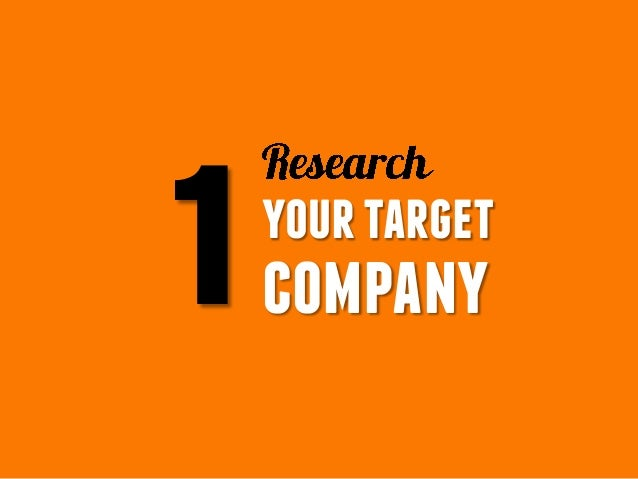 1yourtarget company