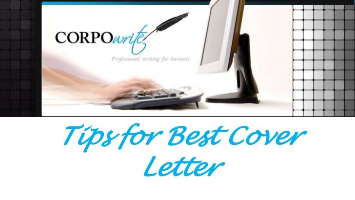 Tips for best cover letter