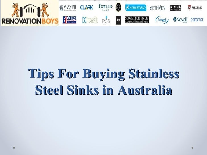 Tips For Buying Stainless Steel Sinks in Australia