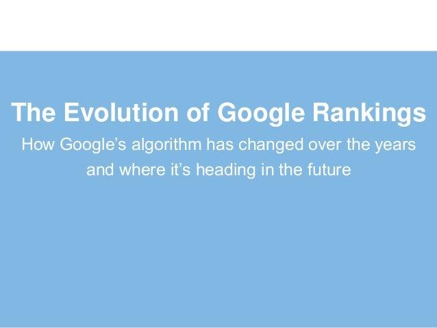 Ebriks-Tips for Google Ranking Evolution.