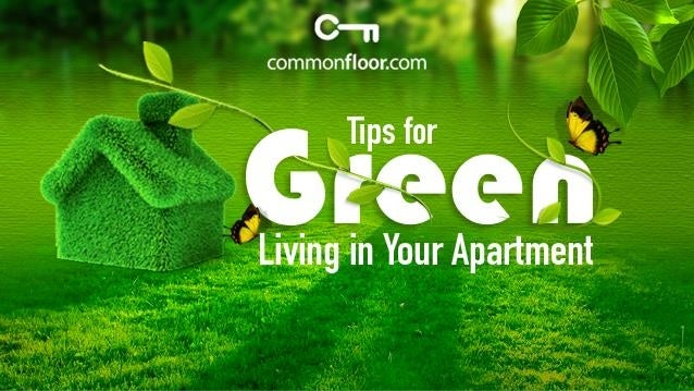 Simple and Easy Tips for Green Living in your apartment