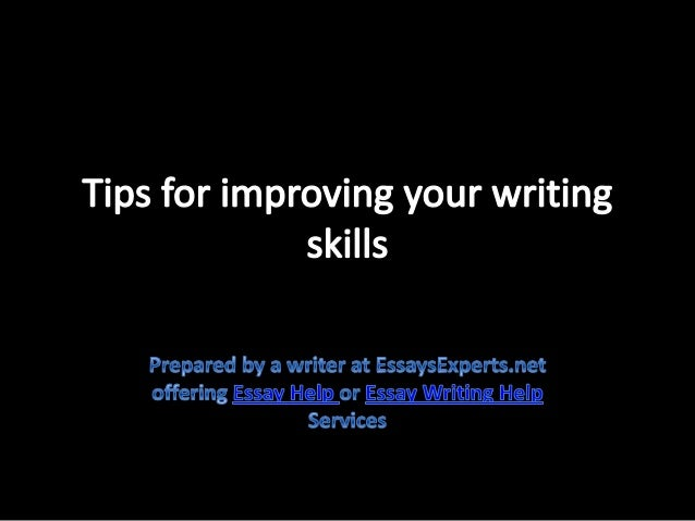 Improve Essay Writing
