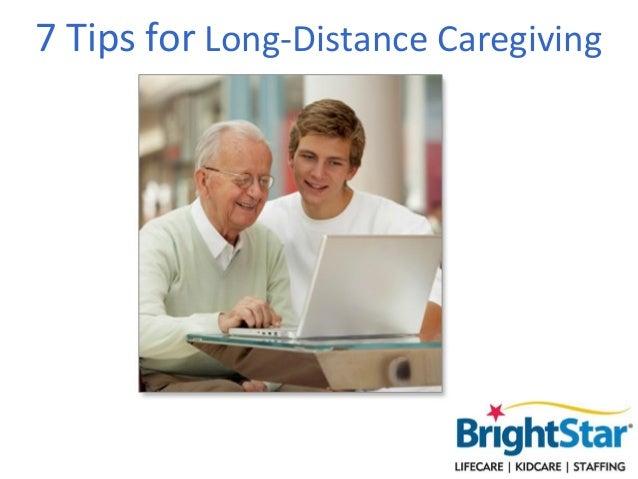 7 Tips for Long-Distance Caregiving